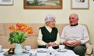 Eine Liebe, die schon 66 Jahre hält: Interview mit den Großeltern