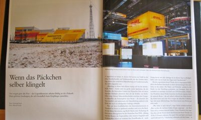 Wenn das Päckchen selber klingelt – Smart Trucks, RFID und die Deutsche Post