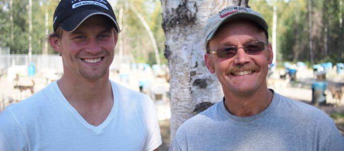 Familienduell beim härtesten Schlittenrennen der Welt
