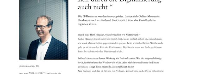 """Digitales Kartellrecht: """"Die Zehn Gebote ändern sich durch die Digitalisierung auch nicht"""""""