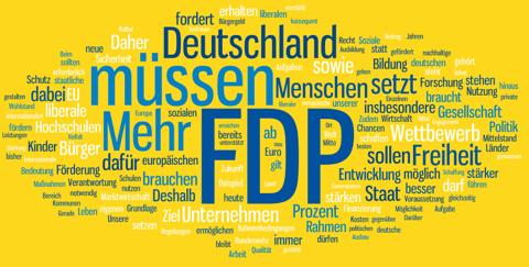 Wahlprogramm FDP